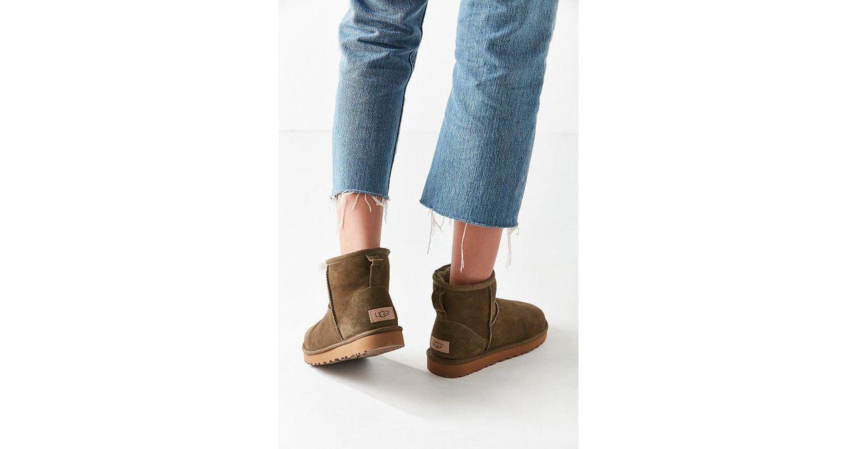 0e536bc4e02c UGG Ugg Classic Ii Mini Ankle Boot - Lyst