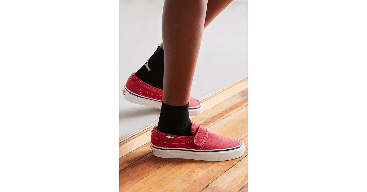 33e1b660f8 Lyst - Vans Vans Anaheim Factory 47 V Dx Slip-on Sneaker in Red