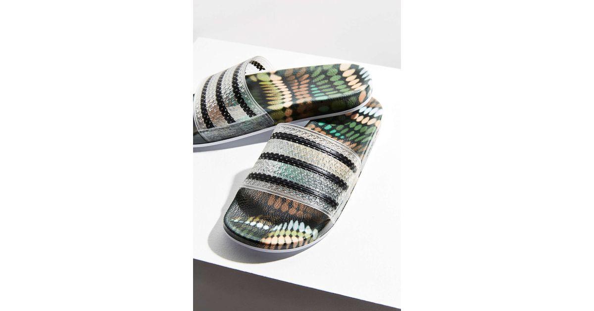 1edf5c28b7c1 Lyst - adidas Originals Originals By Rita Ora Adilette Pool Slide in White