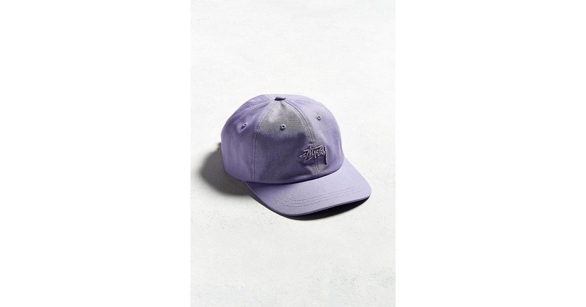 ab44a355293 Lyst - Stussy X Uo Tonal Stock Low Hat in Purple for Men