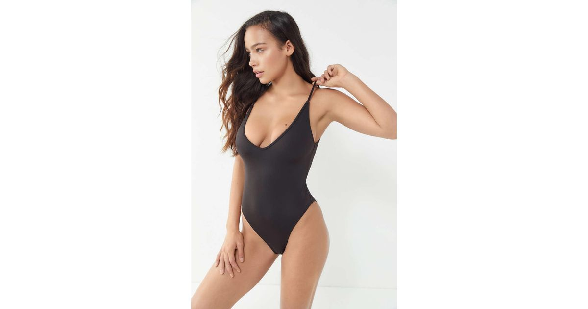f3eda27e6141 Out From Under Kendall One-piece Swimsuit in Black - Lyst