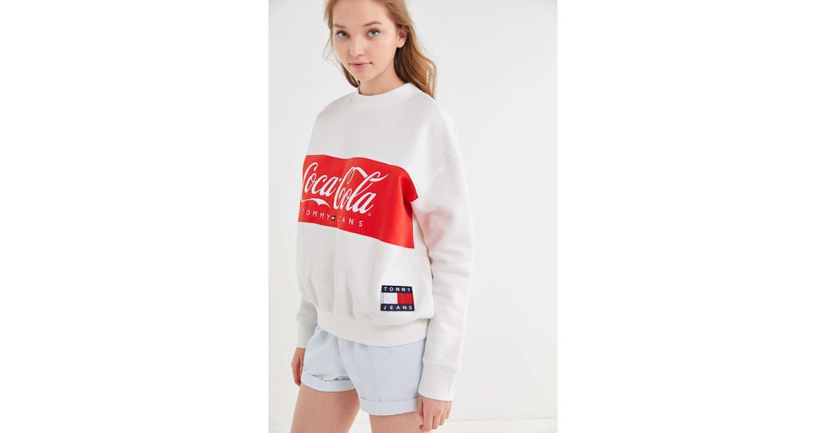 d37f799a Tommy Hilfiger Tommy X Coca Cola Cotton Sweatshirt in White - Save 11% -  Lyst