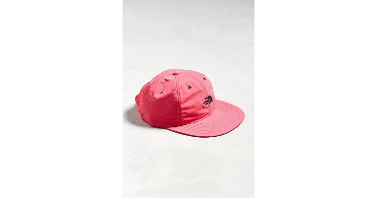 3d7577d0 The North Face The North Face Throwback Tech Baseball Hat in Pink for Men -  Lyst