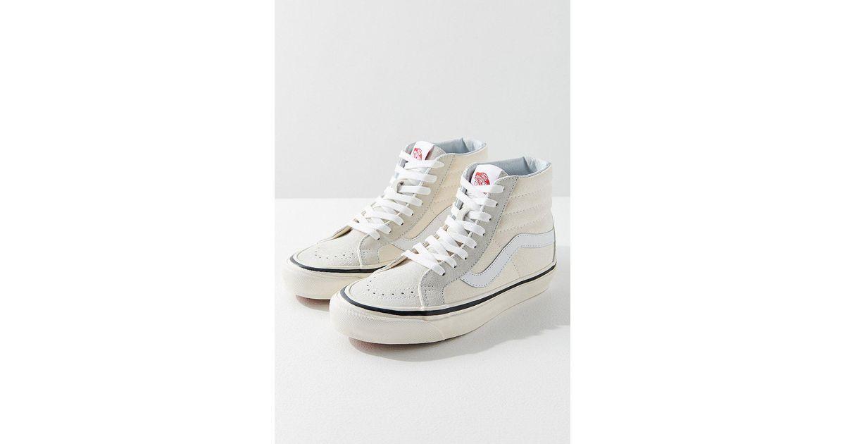 a103eeb48b3 Lyst - Vans Vans Sk8-hi Anaheim Factory 38 Dx Sneaker in White