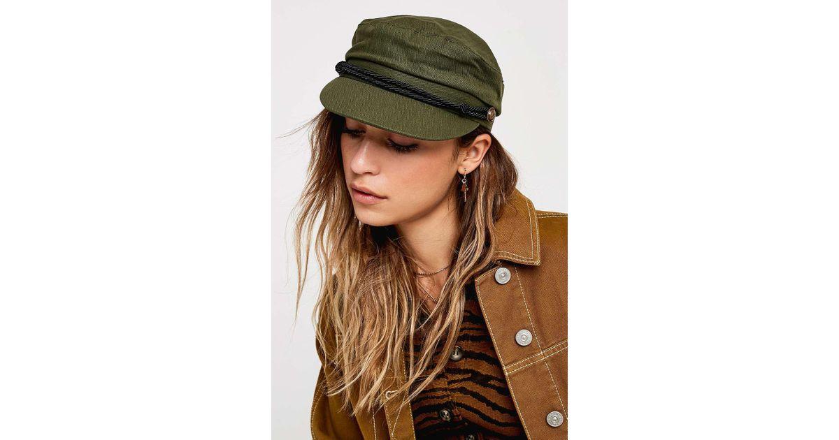 44e0f3b7f358 Urban Outfitters Uo Khaki Baker Boy Cap - Womens All in Green - Lyst