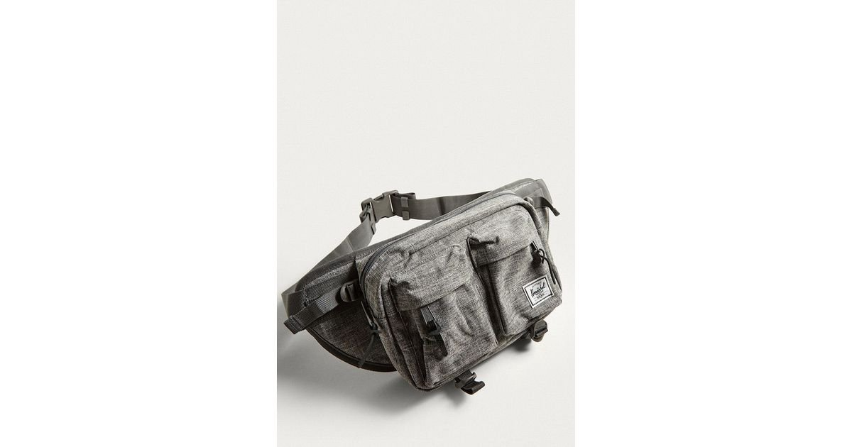 103dfa71cc02 Herschel Supply Co. Eighteen Raven Crosshatch Cross Body Bag in Gray for  Men - Lyst