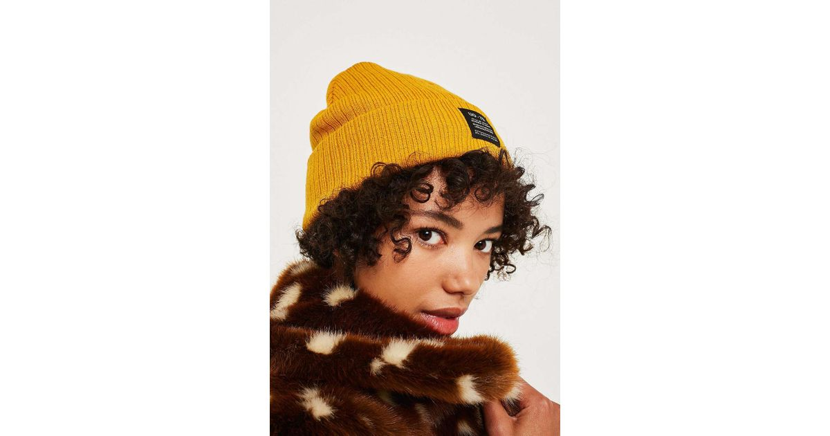 2469f8a4b68 Urban Outfitters Uo Utility Beanie in Yellow - Lyst