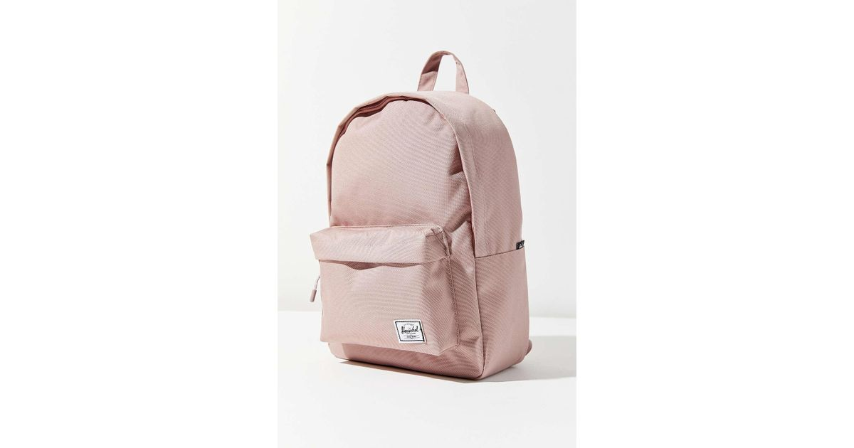 3f96ae675fcc Lyst - Herschel Supply Co. Classic Mid-volume Backpack in Pink