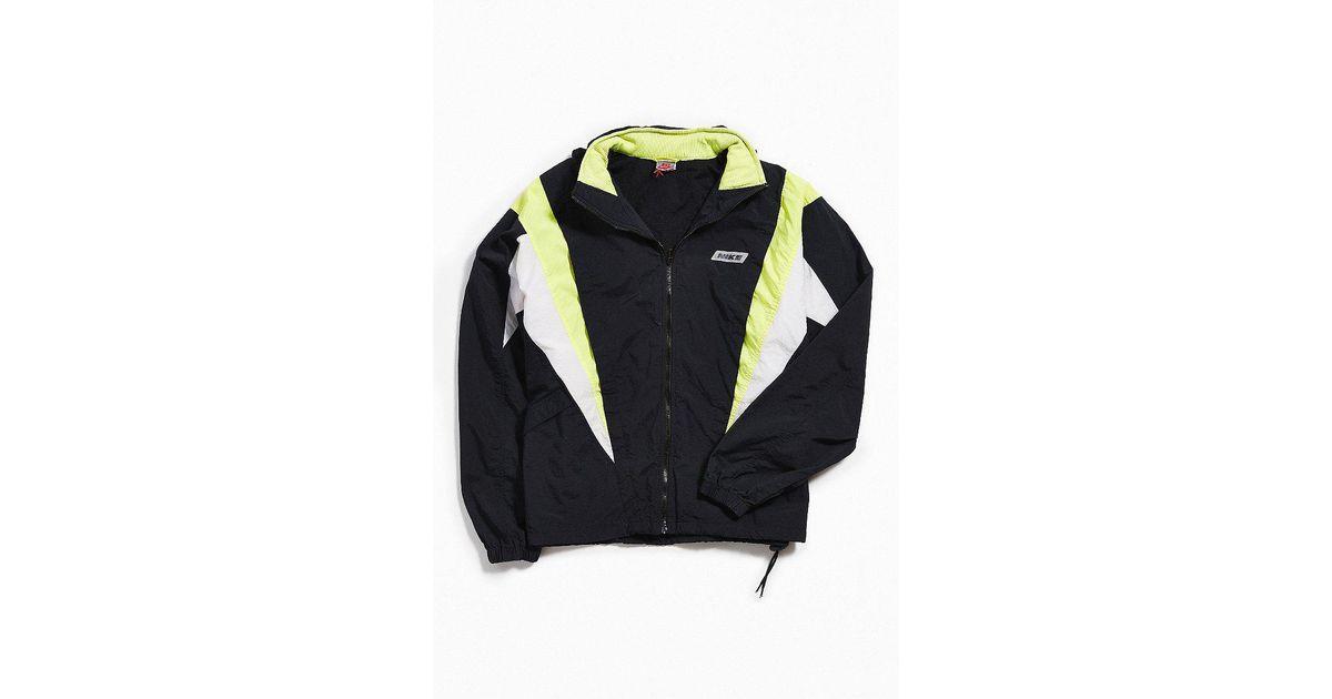 Lyst - Urban Outfitters Vintage Nike Black + Lime Windbreaker Jacket in  Black for Men f72b1e68c