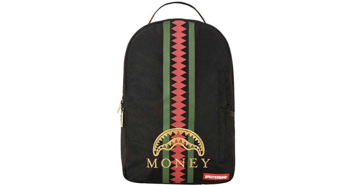 46d24d0be1d Lyst - Sprayground Florence Money Backpack in Black for Men