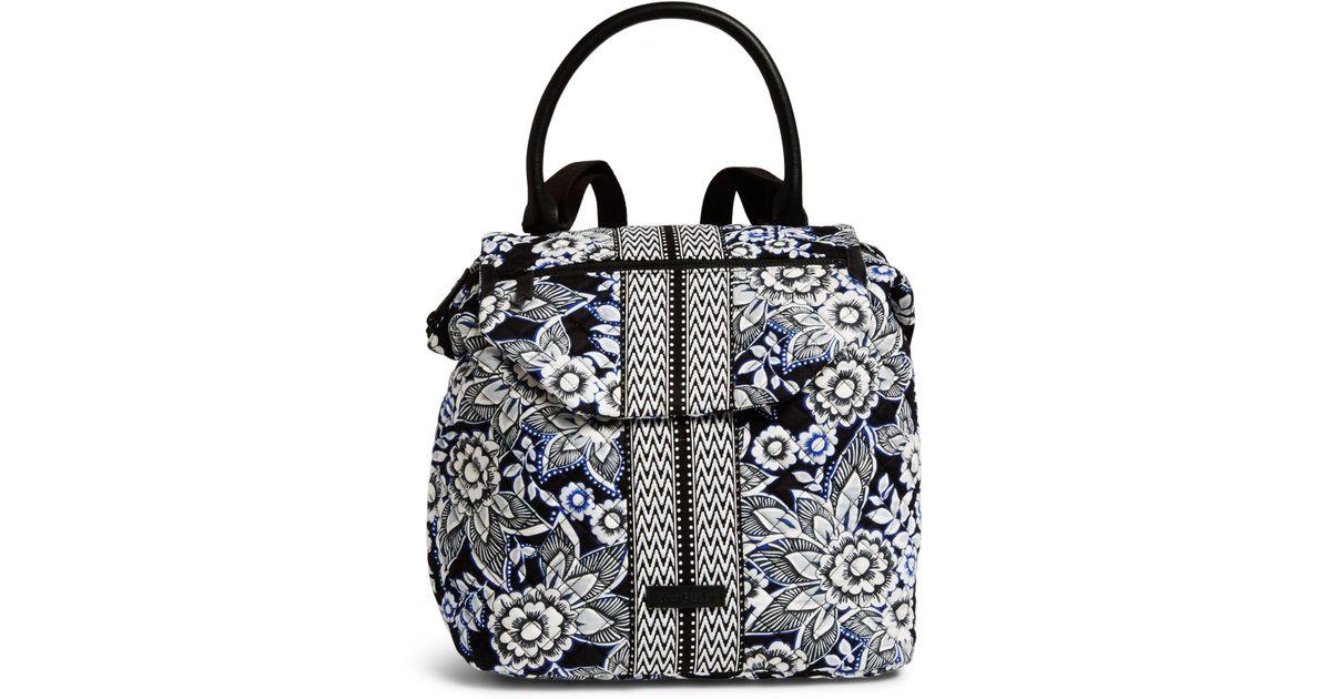 Lyst - Vera Bradley Change It Up Backpack in Black
