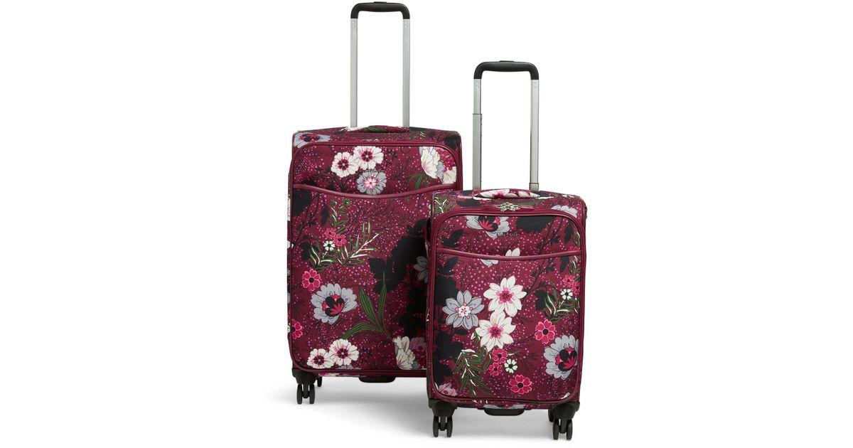 9a1119c8a5 Lyst - Vera Bradley Spinner Luggage Set