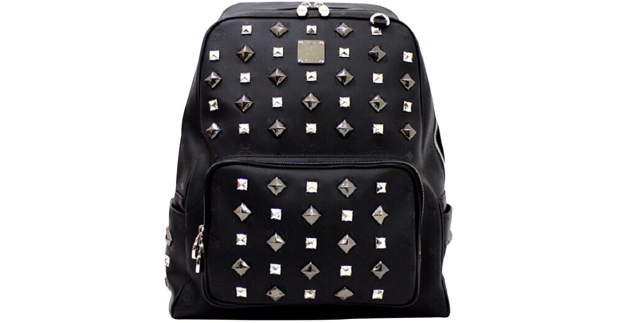 d14cb64067b Lyst - Mcm Backpack in Black