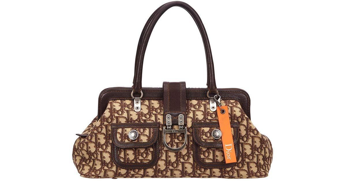 Dior Pre-owned - Cloth handbag 30XDBAUTv