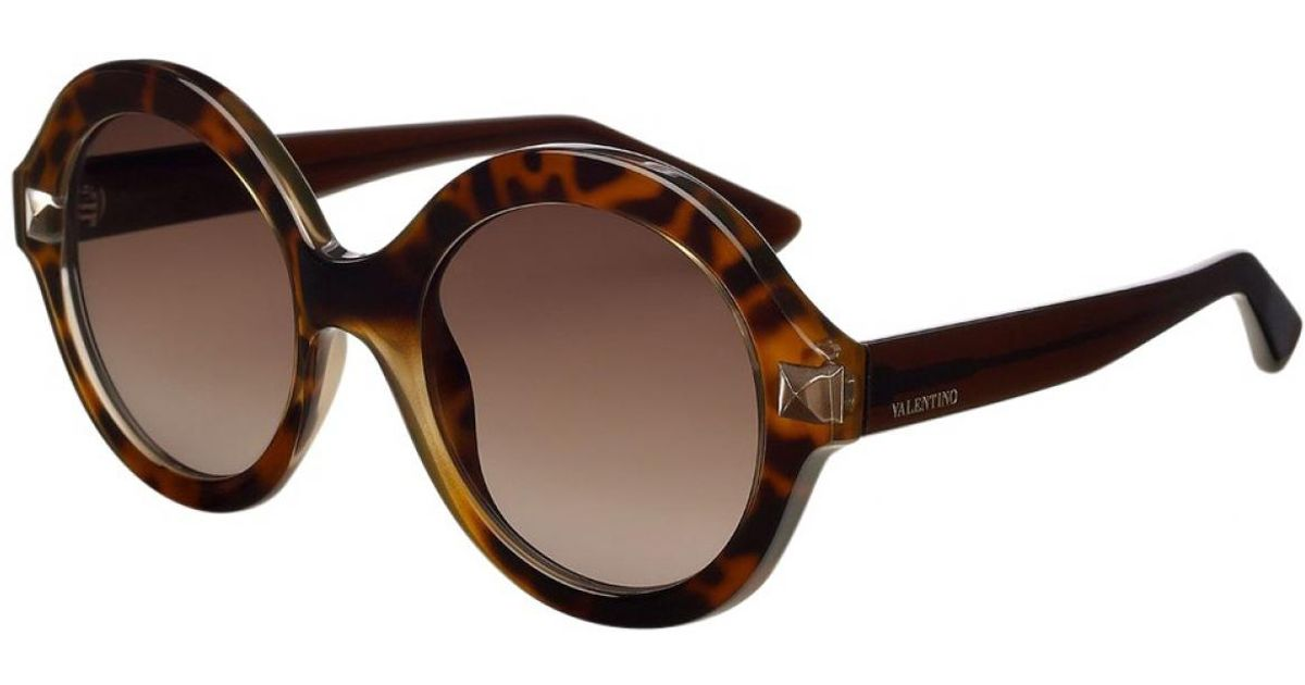 6f09d33a320 Lyst - Valentino Sunglasses in Brown