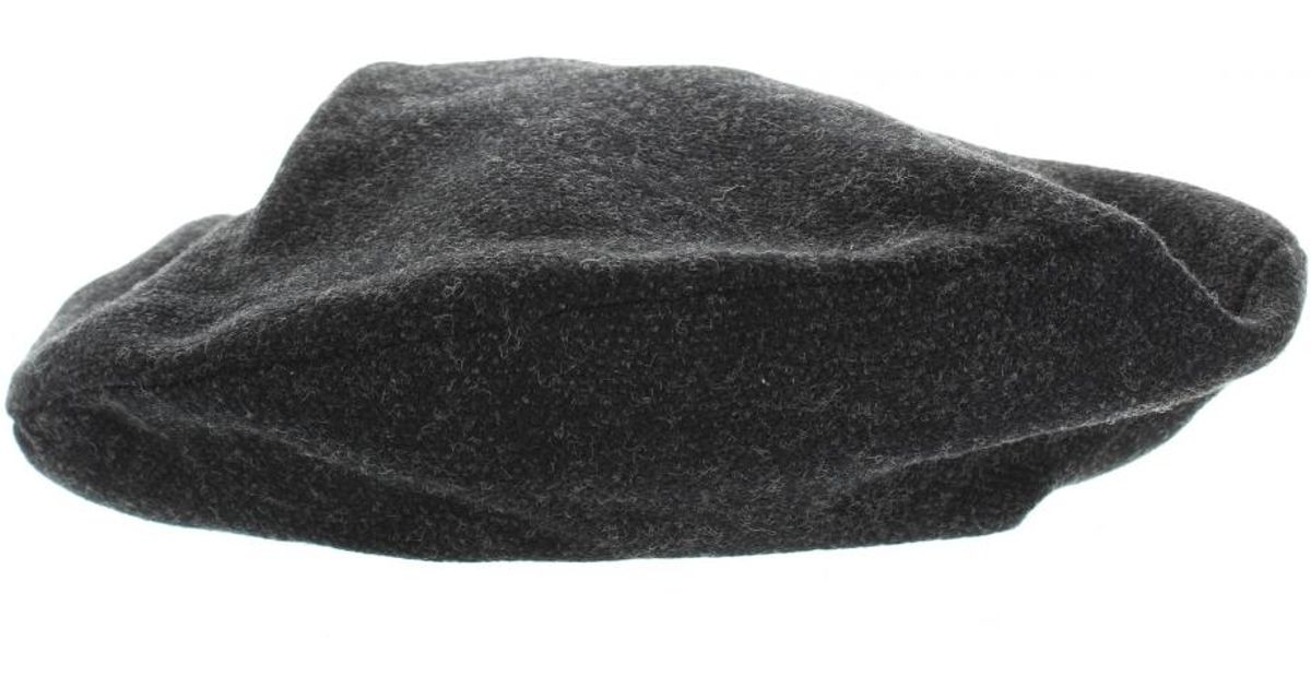 Lyst - Louis Vuitton Pre-owned Black Cotton Hats in Black 31b5b301573