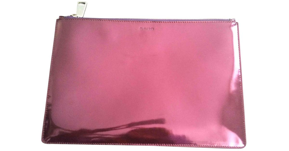 Jil Sander Pre-owned - LEATHER CLUTCH PURSE