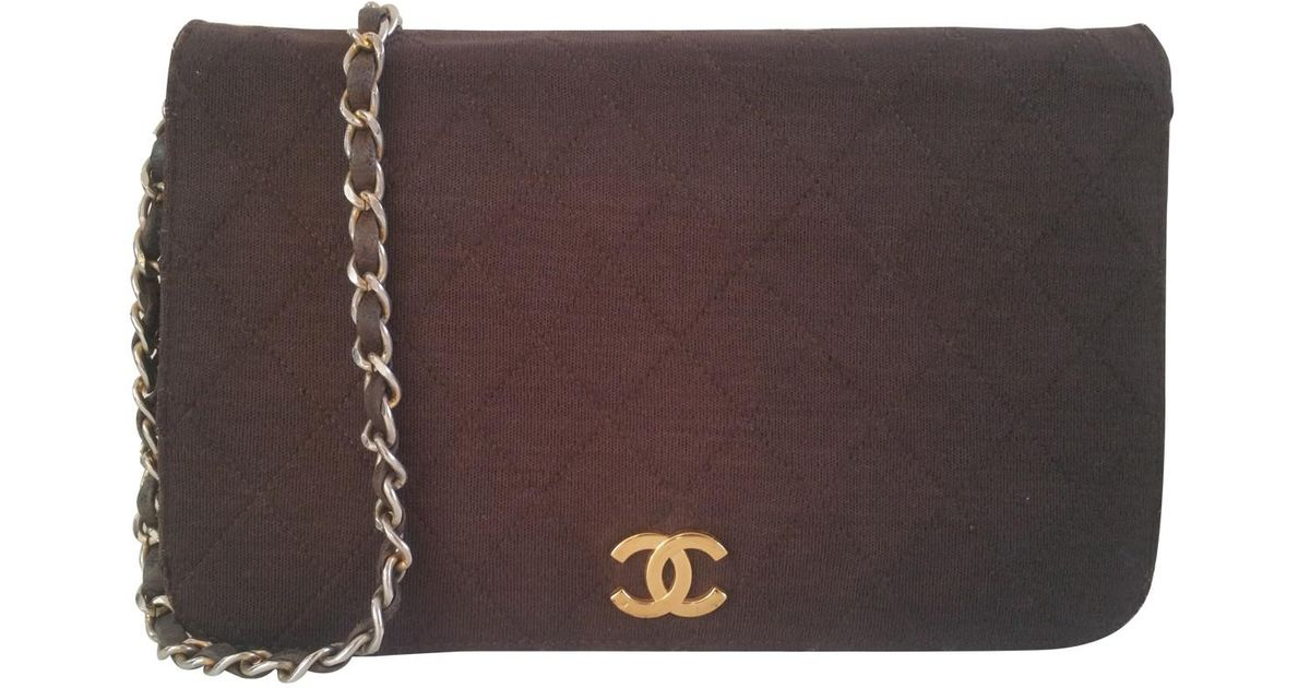Pre-owned - Timeless cloth crossbody bag Chanel dBwFDEXu