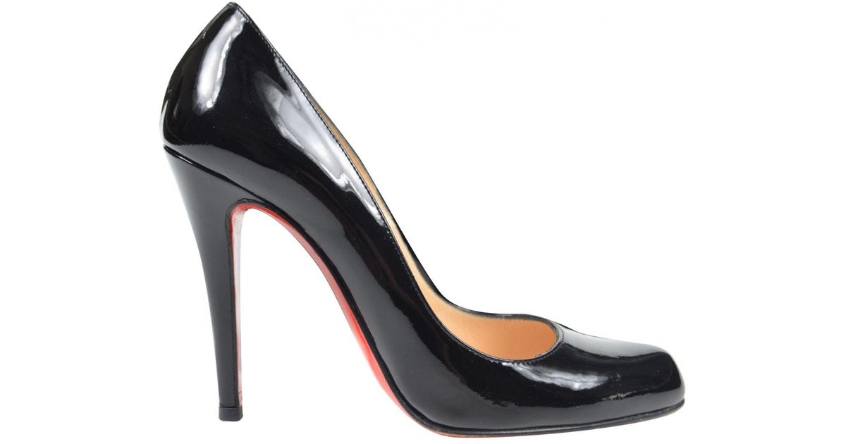Pre-owned - Patent leather heels Christian Louboutin sdl7TP8