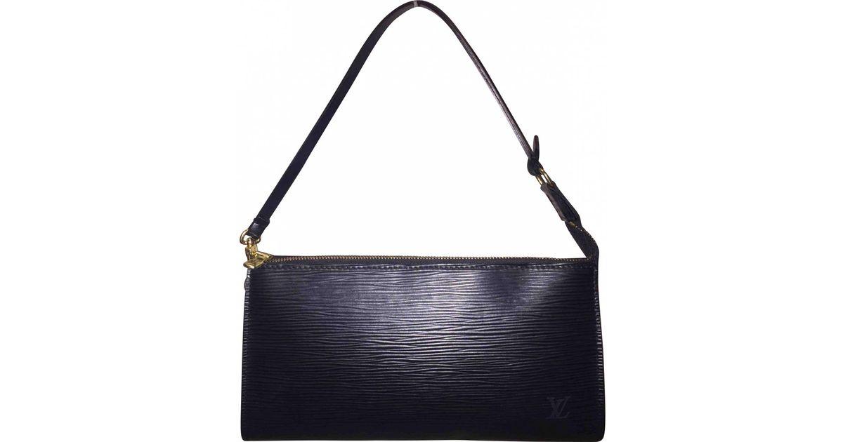 Pre-owned - Pochette Accessoire leather handbag Louis Vuitton 1IdO56DqE3