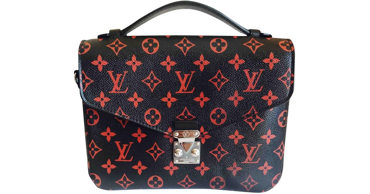 67eb10f7ccad Louis Vuitton Metis Leather Crossbody Bag in Black - Lyst