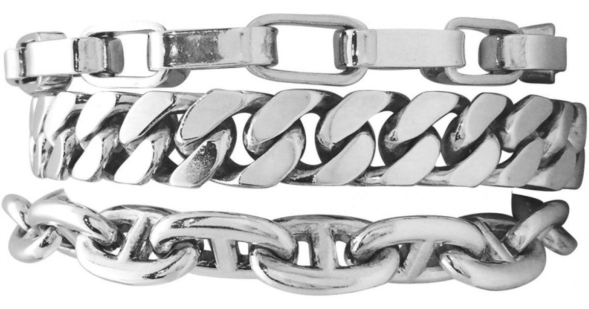 Lyst - Hermès Silver Bracelet in Metallic b1fcadc4219