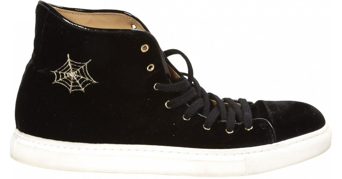 Pre-owned - Velvet trainers Charlotte Olympia QWsIPk3aO