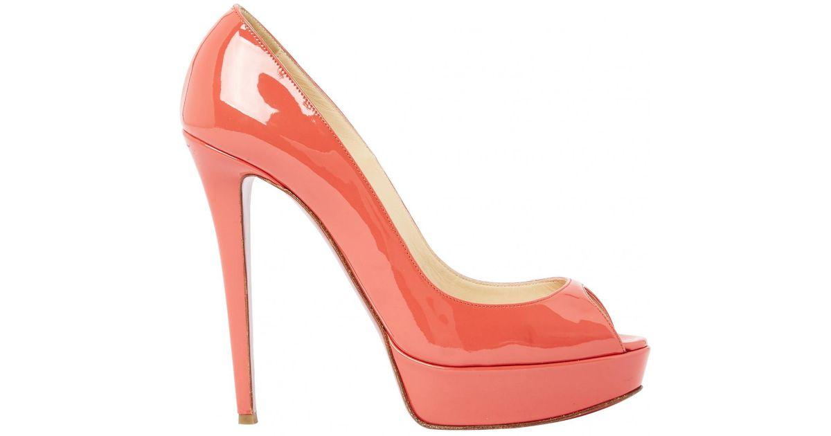 Pre-owned - PATENT LEATHER COURT SHOES Christian Louboutin j1DumJuc7