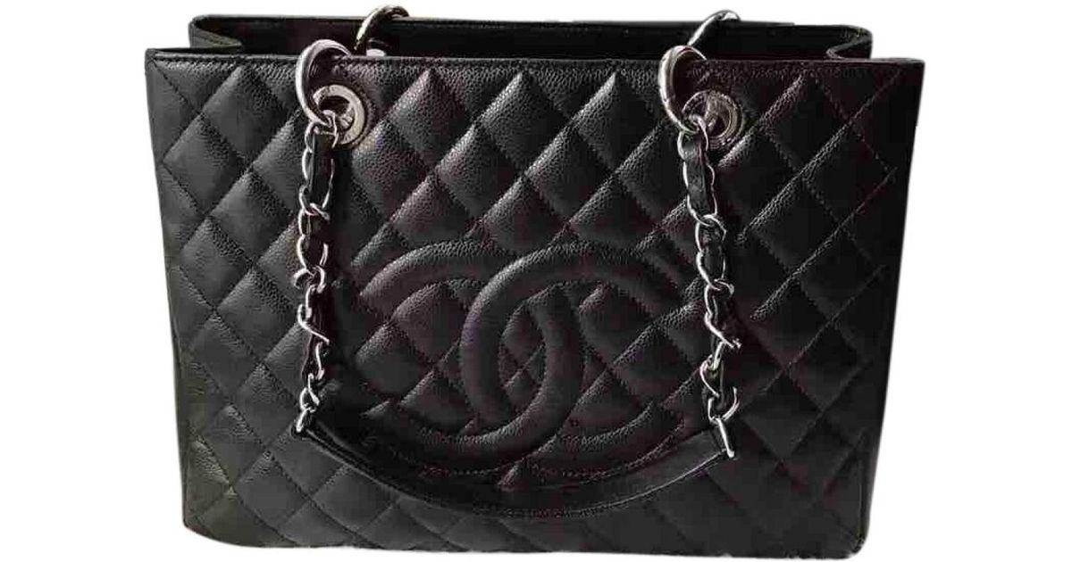 Pre-owned - Grand shopping patent leather handbag Chanel 9LxORch