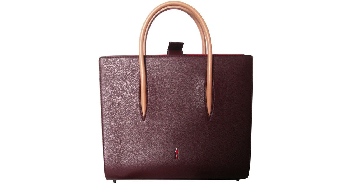 Christian Louboutin Pre-owned - Leather tote