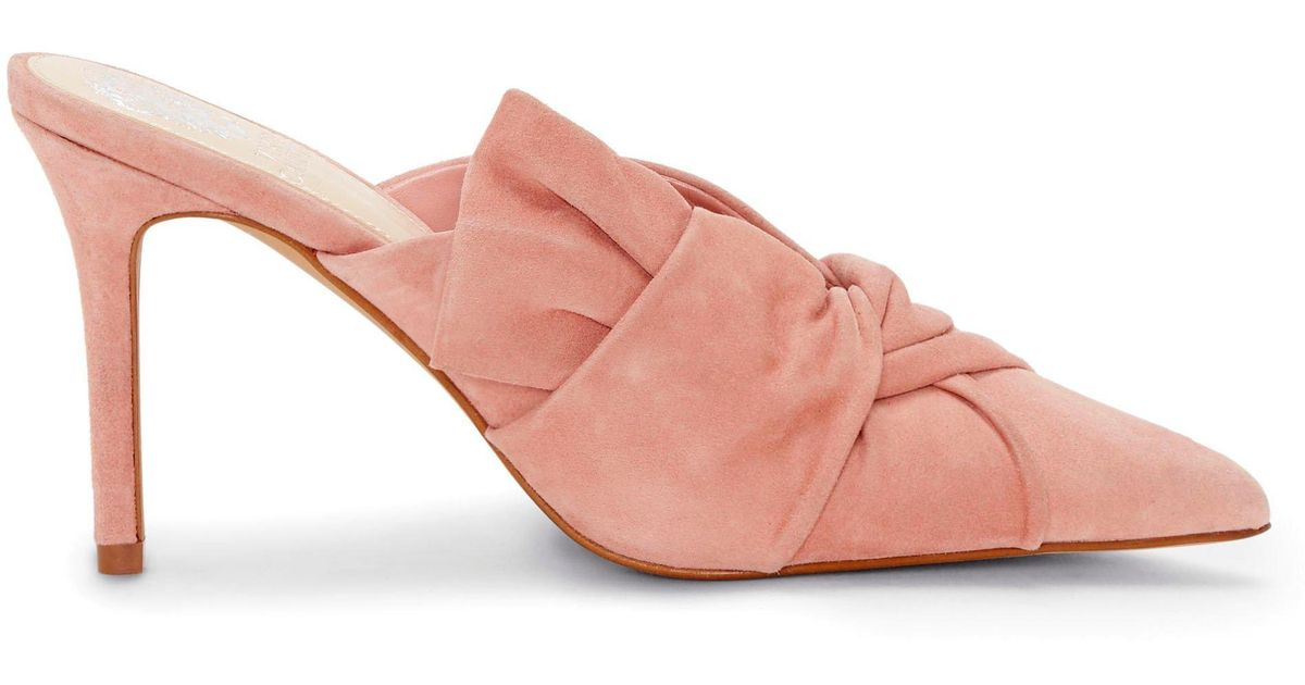 34b7751af80 Lyst - Vince Camuto Amillada – Point-toe Mule in Pink