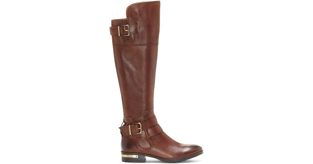 2dc63797798 Lyst - Vince Camuto Prestinta – Riding Boot in Brown - Save 18%