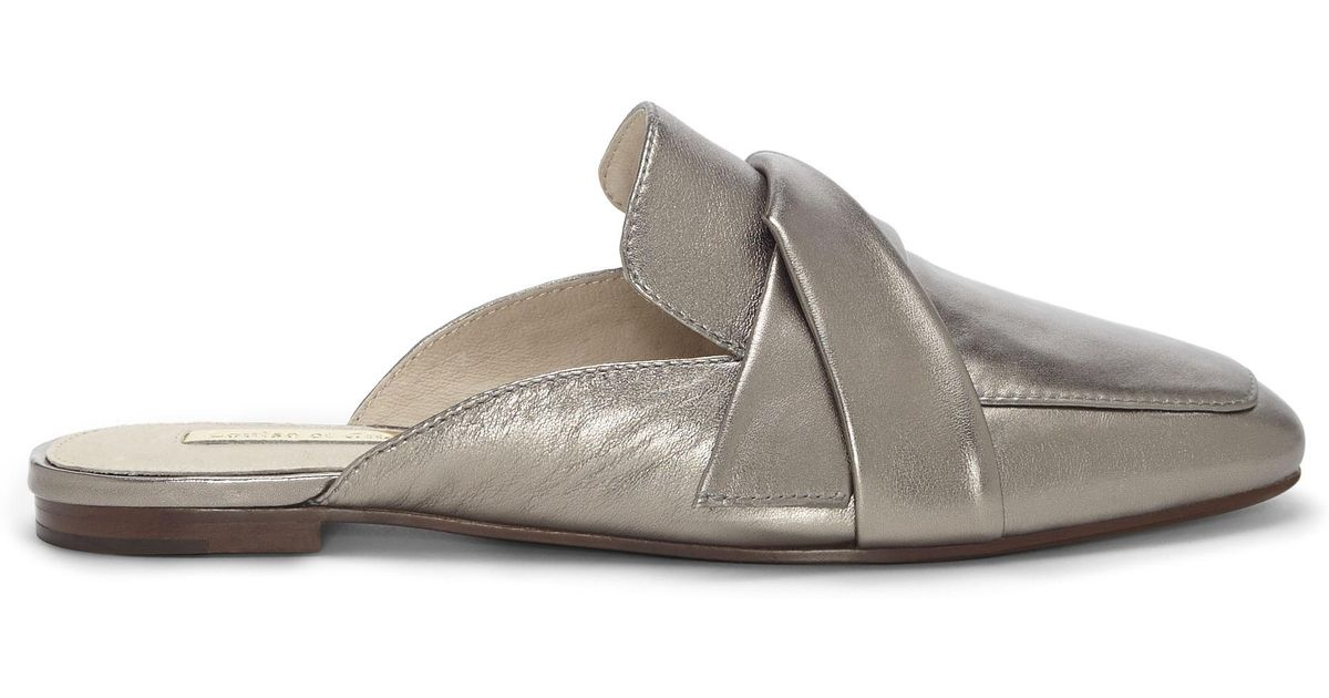 fa2eac257b4 Lyst - Vince Camuto Louise Et Cie Florie – Loafer Mule in Metallic