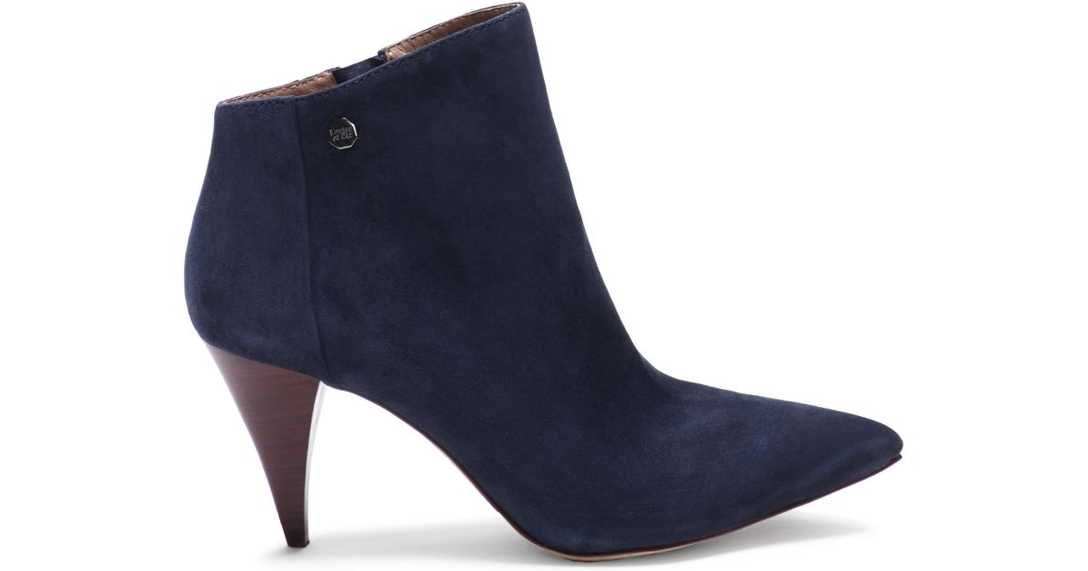 576caccaae Lyst - Vince Camuto Louise Et Cie Warley – Cone-heel Bootie in Blue