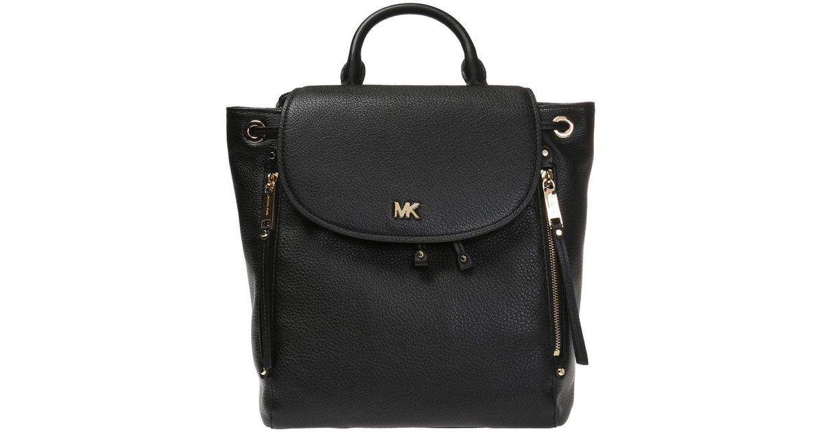 9dcac8a018ef Michael Kors 'evie' Backpack in Black - Lyst