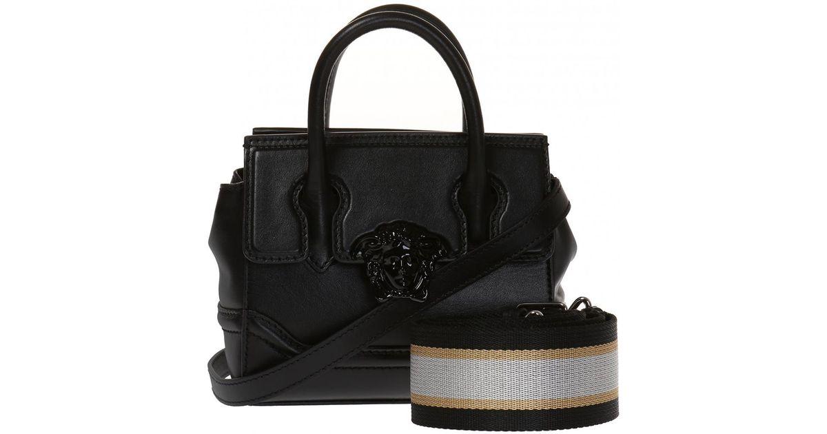 2e048a758369 Lyst - Versace Medusa Head Shoulder Bag in Black