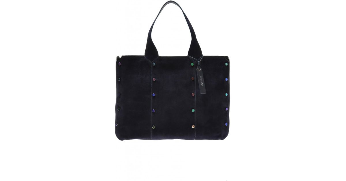 25f9c92e3227 Lyst - Jimmy Choo  lockett Shopper  Bag in Blue