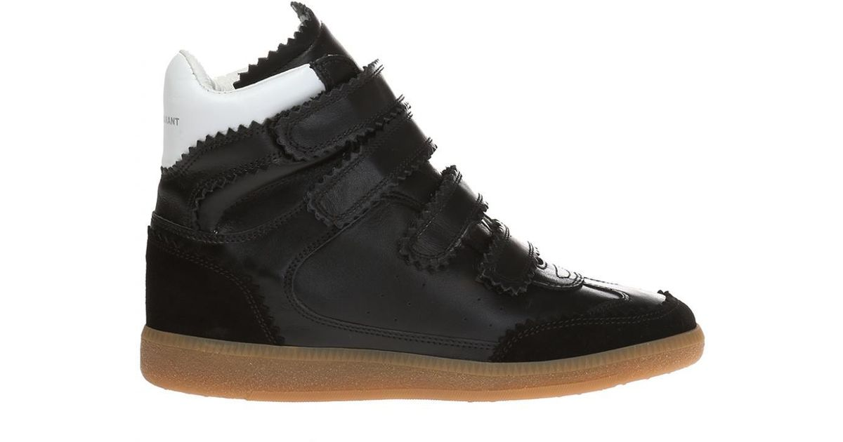 61c6a553f5 Lyst - Isabel Marant 'bilsy' High Ankle Sport Shoes in Black for Men