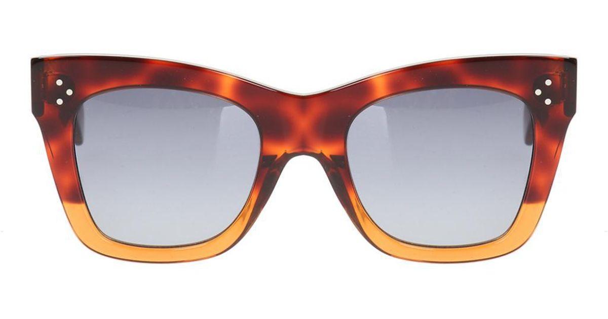 2a642e44ab8ea Lyst - Céline  catherine  Sunglasses