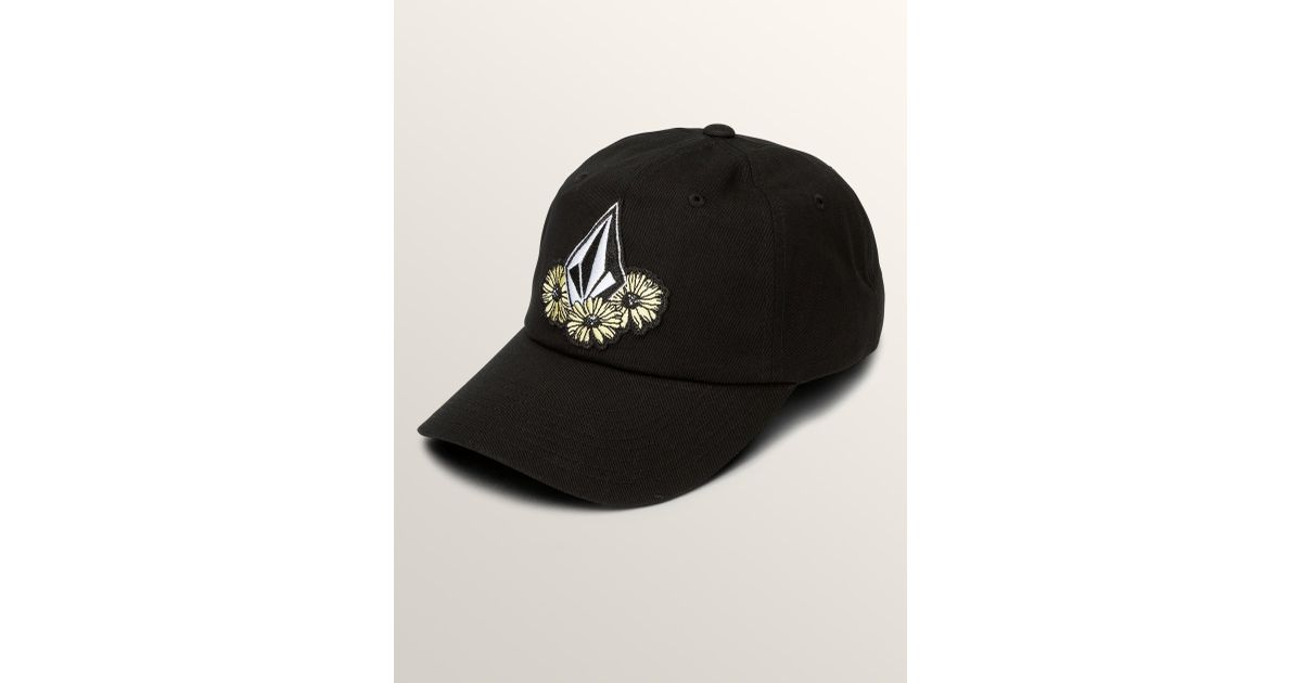 Lyst - Volcom Splat Dat Dad Hat - Black - O s in Black for Men 8eb7e5ee3ffa