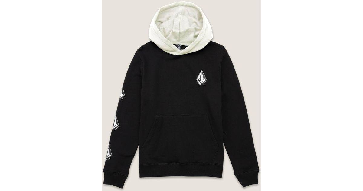 69f42f052 Volcom Big Boys Deadly Stones Pullover Hoodie in Black for Men - Lyst