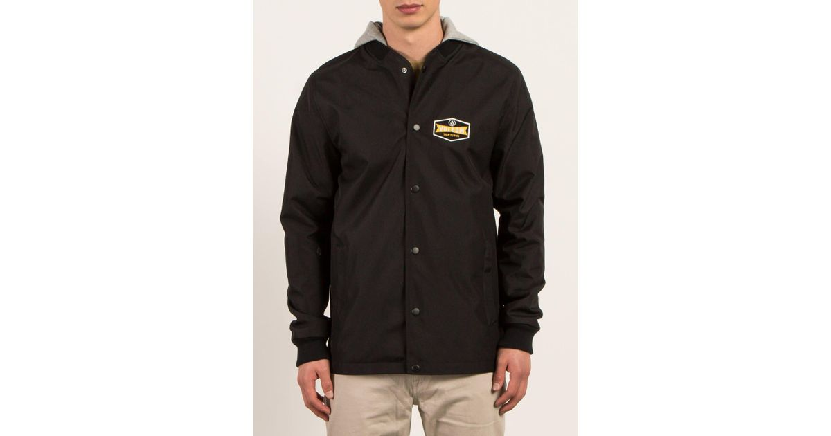 In Cpwunqt Volcom For Black Men Jacket Lyst Highstone 8w8rxg0q