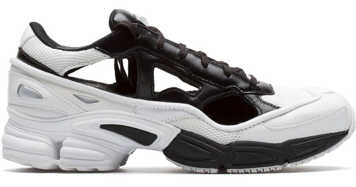 wholesale dealer 99ab5 f6655 adidas By Raf Simons rs Replicant Ozweego Sneakers in Black for Men - Lyst