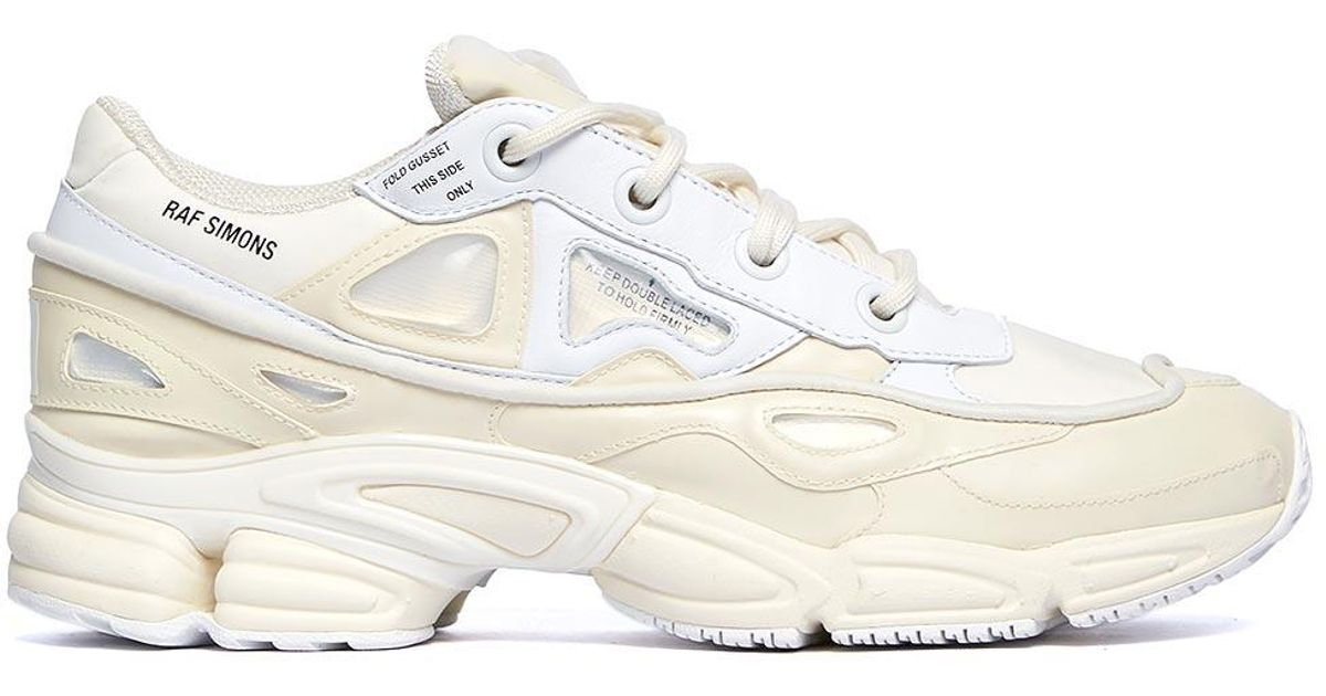 new style d1609 6d37a Adidas By Raf Simons - White Ozweego Bunny Sneakers for Men - Lyst