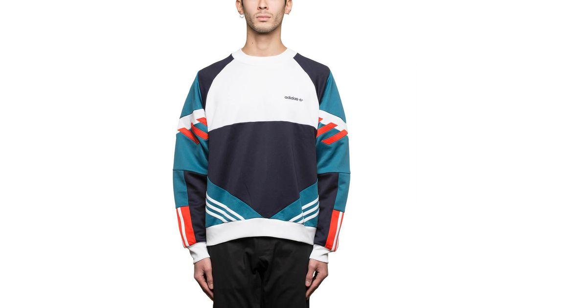 Lyst - adidas Originals Chop Shop Sweatshirt in Blue for Men c58c6c262aa