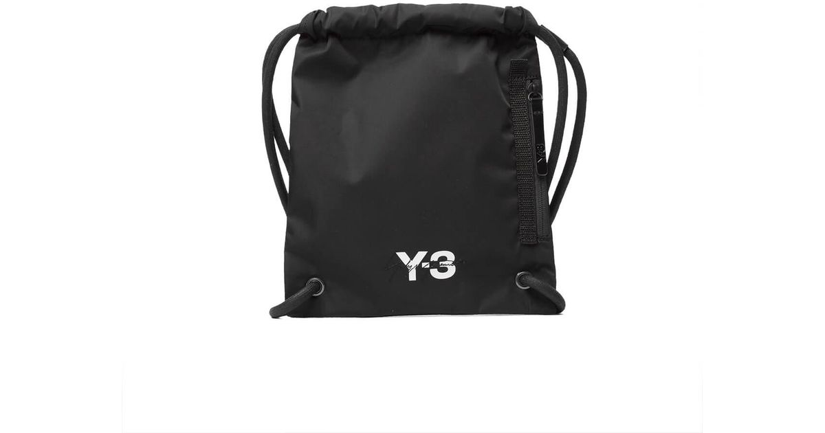 9a39e0061980 Y-3 Mini Gym Bag in Black for Men - Lyst