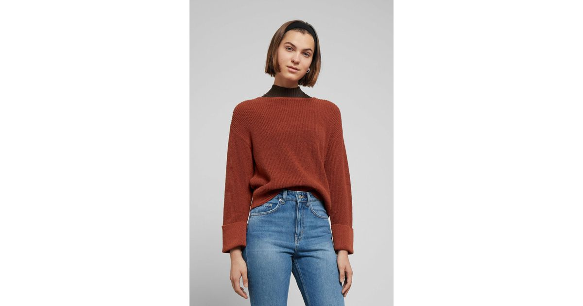 Weekday Lucinda Sweater in Orange - Lyst 37c4ca3de