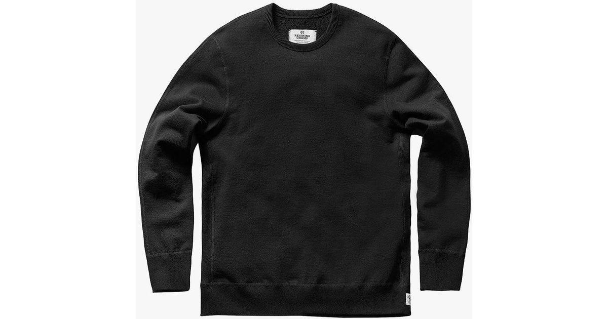 f4bb96c020d Lyst - Reigning Champ Heavyweight Sweatshirt in Black for Men