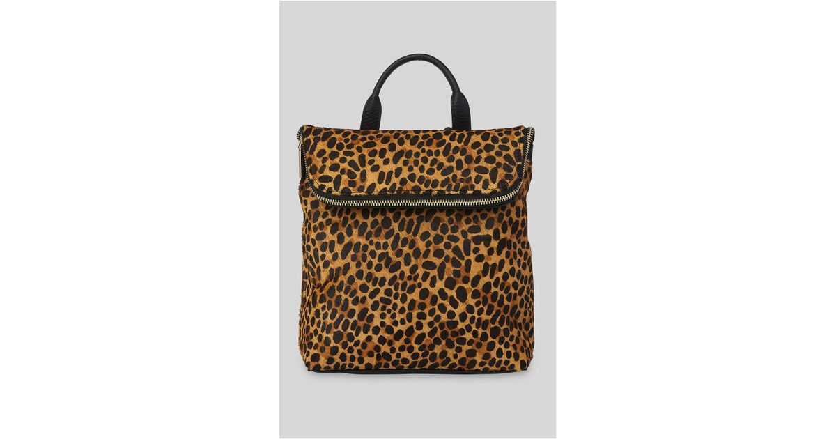 4115e0031170 Whistles Leopard Mini Verity Backpack - Lyst