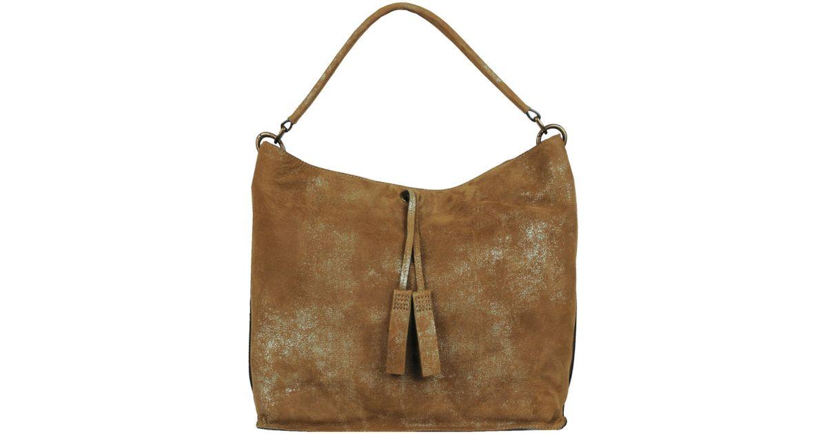 Lyst Wilsons Leather Joelle Hawkens Michele Handmade Large Hobo In Metallic